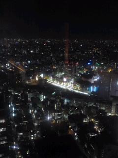 新宿野村ビル49階の卯乃屋でリッチに飲んだ
