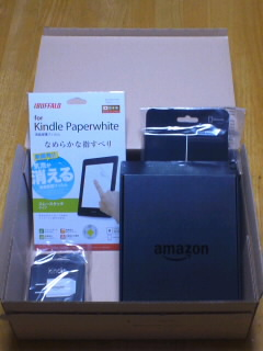 Kindle Paperwhite 3Gが届いた!