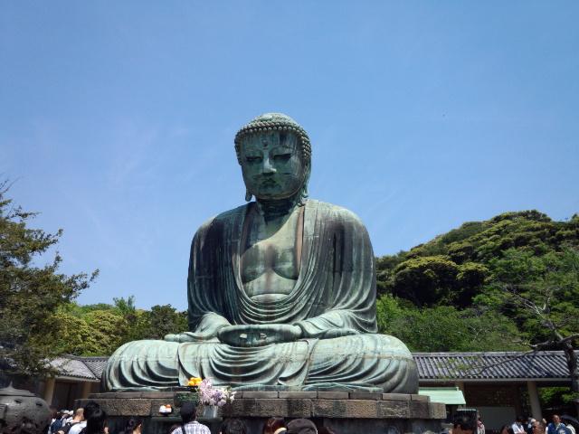 鎌倉の大仏、初参拝