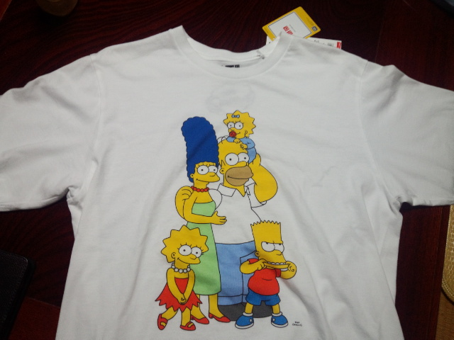 ザ・シンプソンズのTシャツ