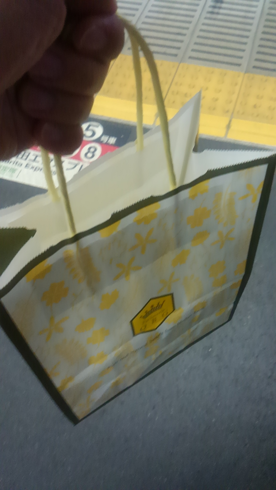 品川駅でプリンを買いました!